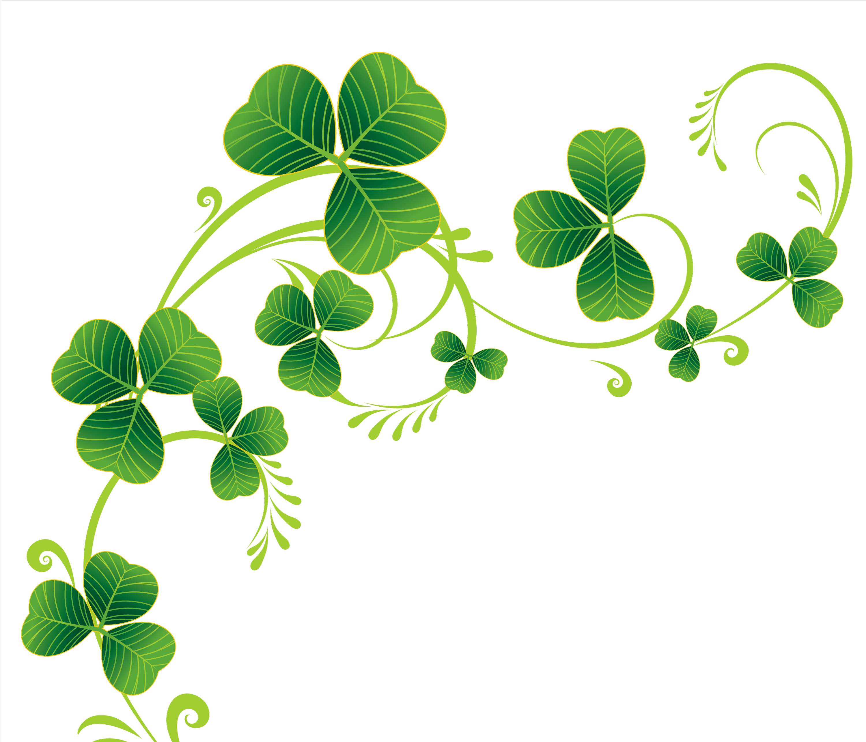 Color clipart background. Irish pencil and in