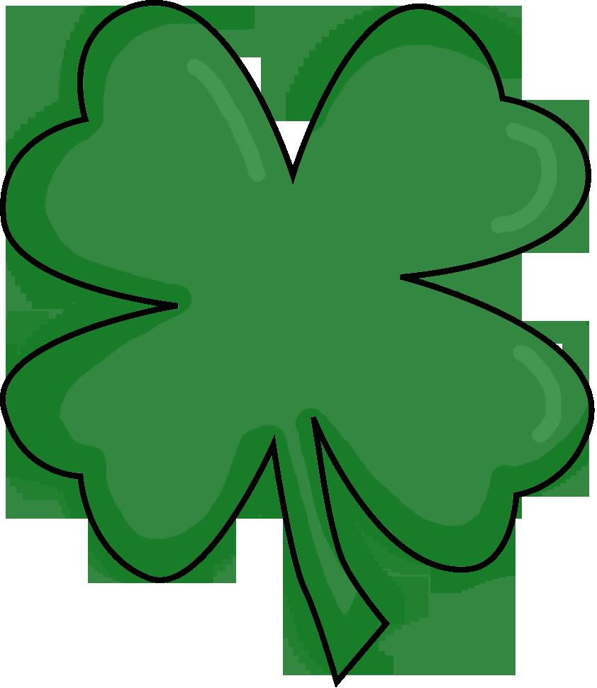 Clover clipart clear background. Four leaf clip art