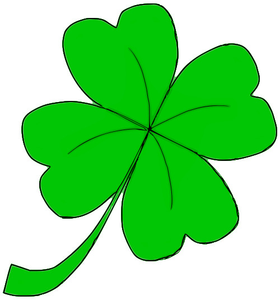 Four leaf free images. Clover clipart clover leaves