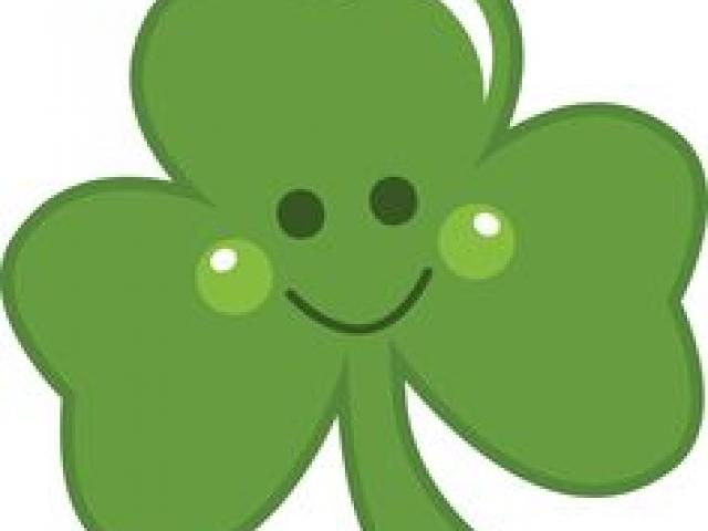 Clover clipart cute. Cool cliparts stock vector