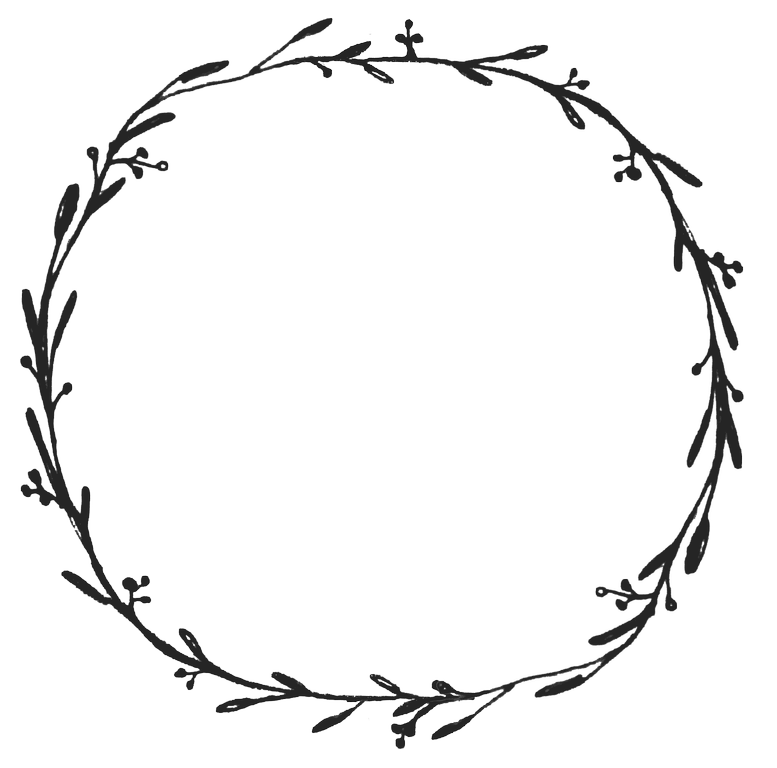 White clipart wreath. Dropbox free graphics diy