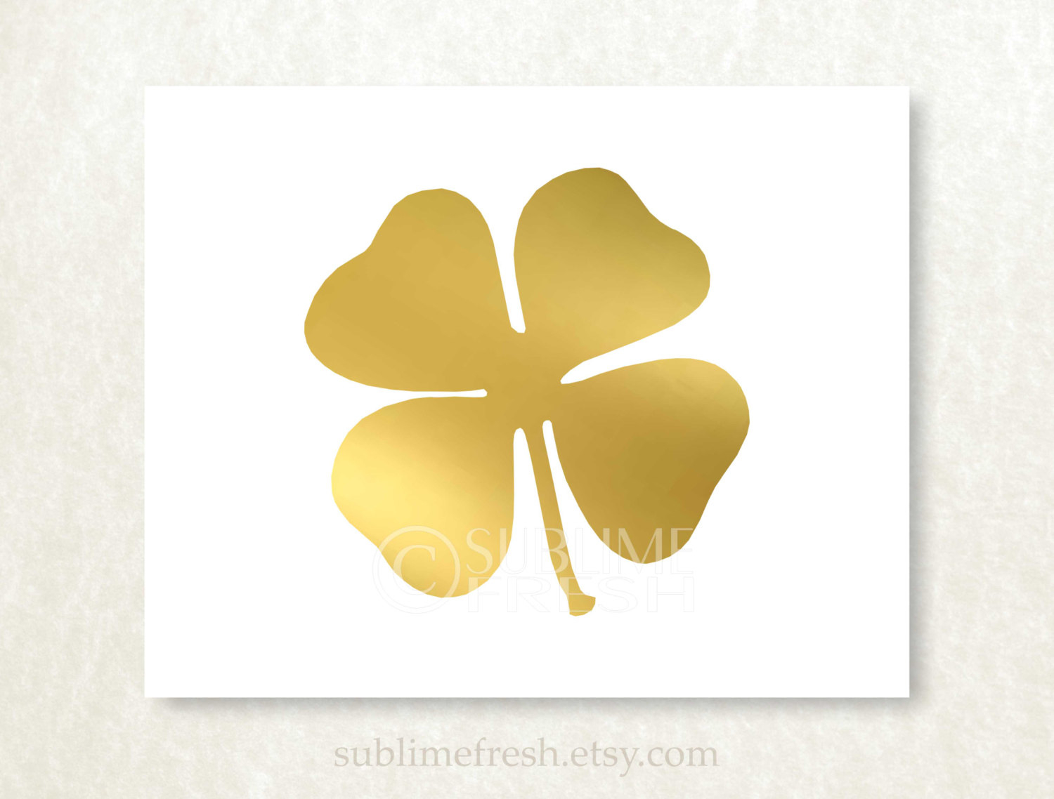 Clover clipart gold clover. Four leaf to printable