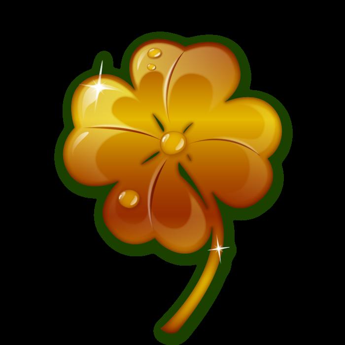 Clover clipart gold clover. Golden