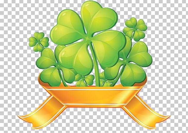 Four leaf png encapsulated. Clover clipart gold clover