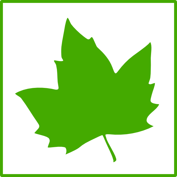 Clover clipart ivy. Green leaf icon clip