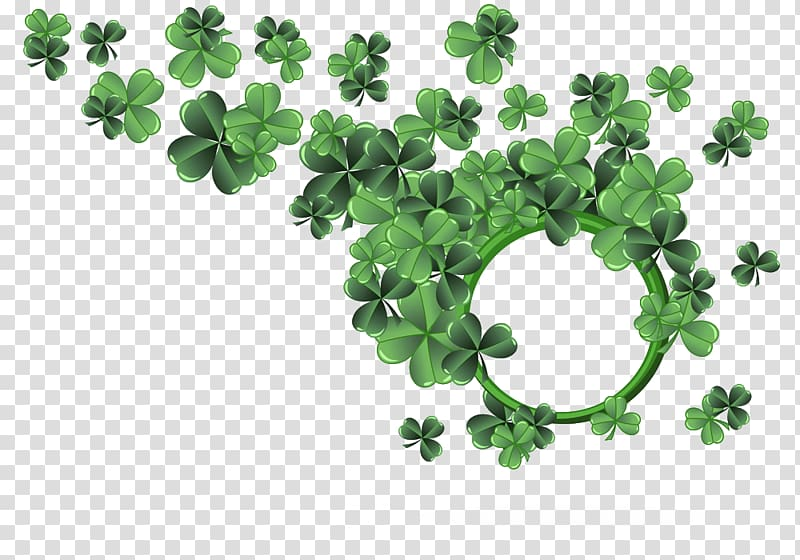 Shading transparent background png. Clover clipart ivy