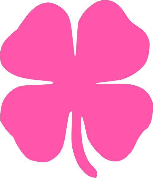 Pink free collection download. Clover clipart jpeg