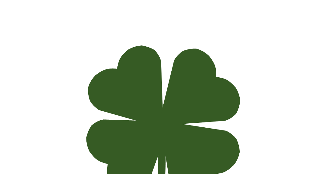 Clover clipart little. Free n images four