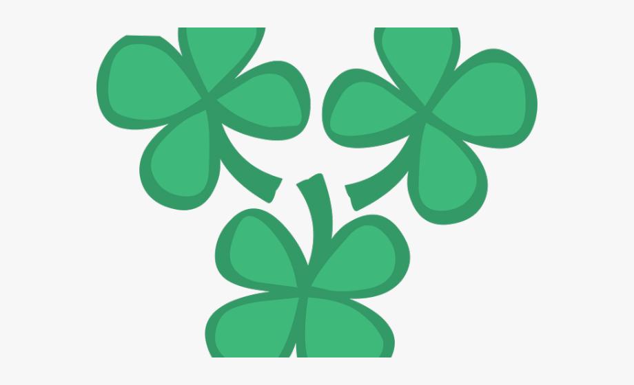 Luck four leaf clip. Clover clipart lucky