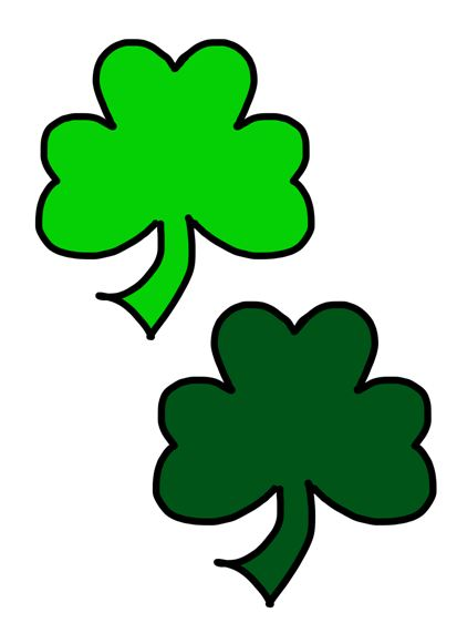 Free clip art images. Clover clipart march birthday