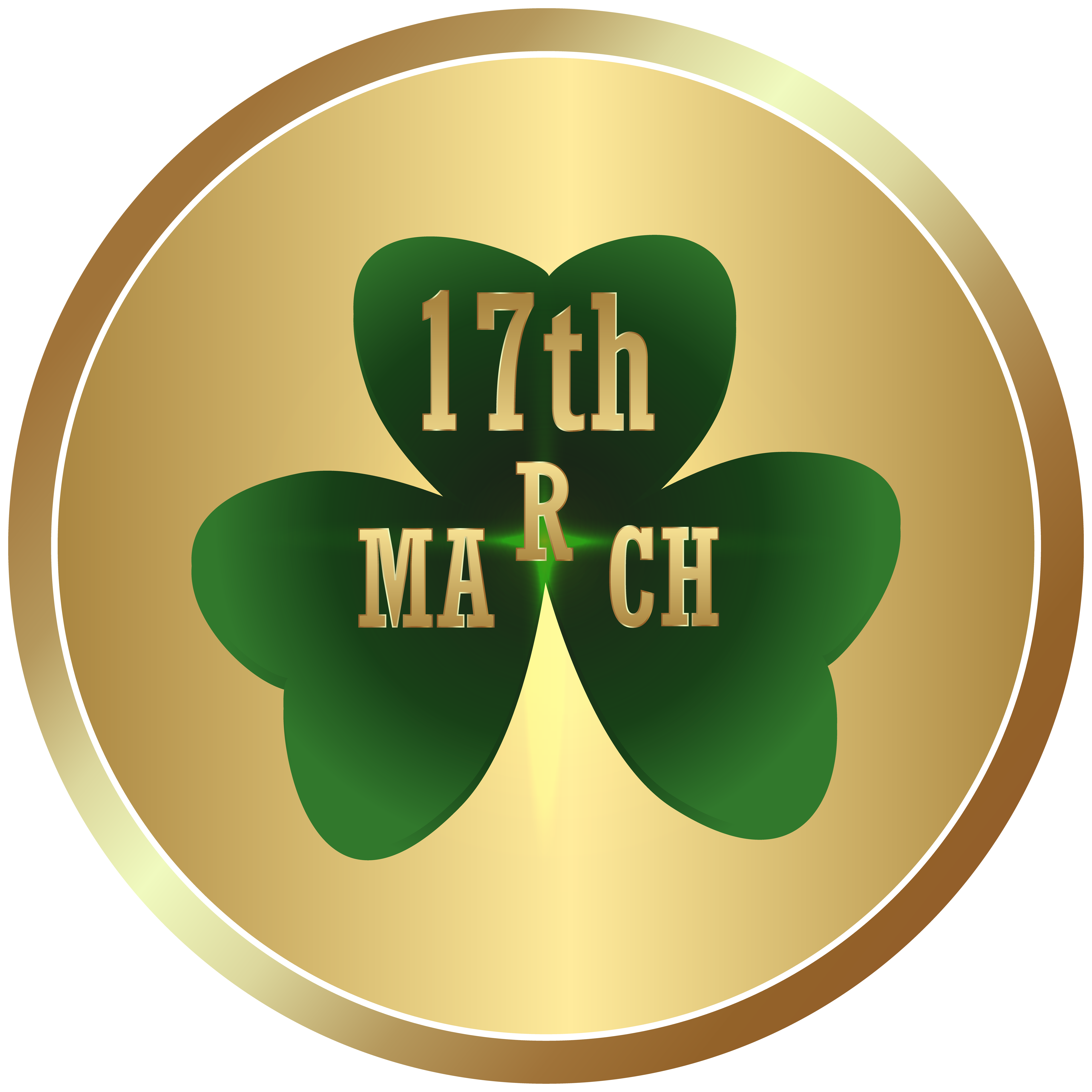 Clover clipart march birthday. St patrick s day