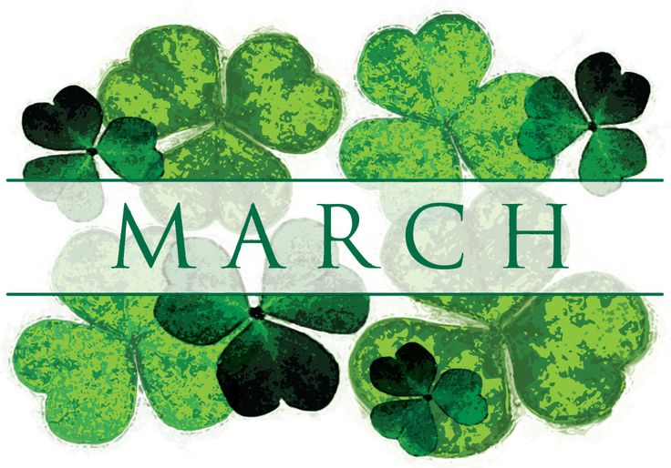 Free download clip art. Clover clipart march birthday