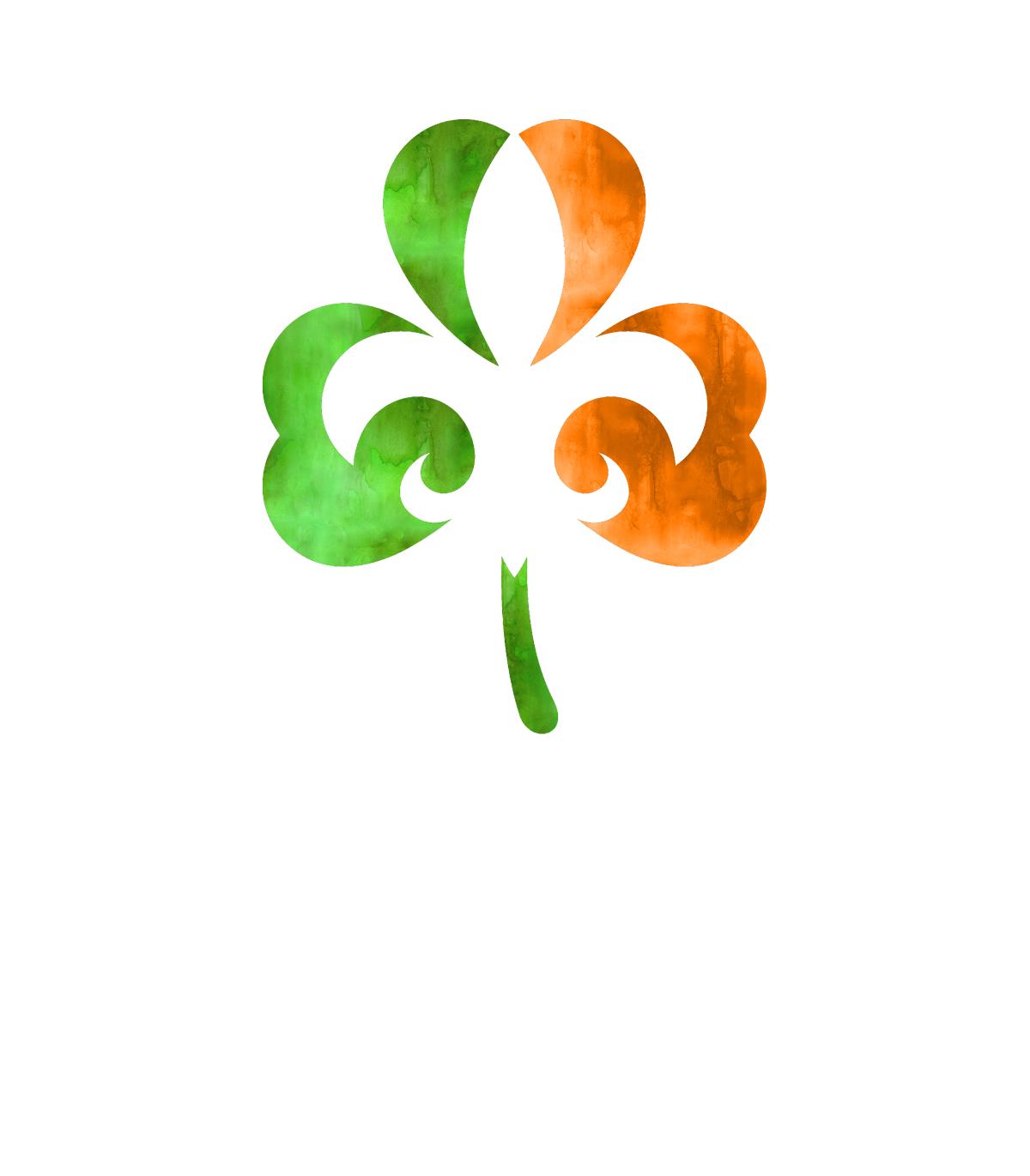 Shamrock clip art orange. Clover clipart original