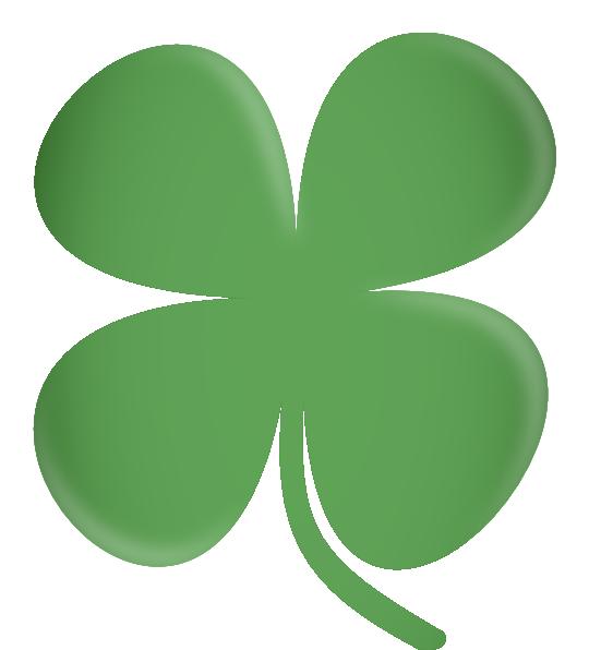 Dot clipart four. Leaf clover clip art