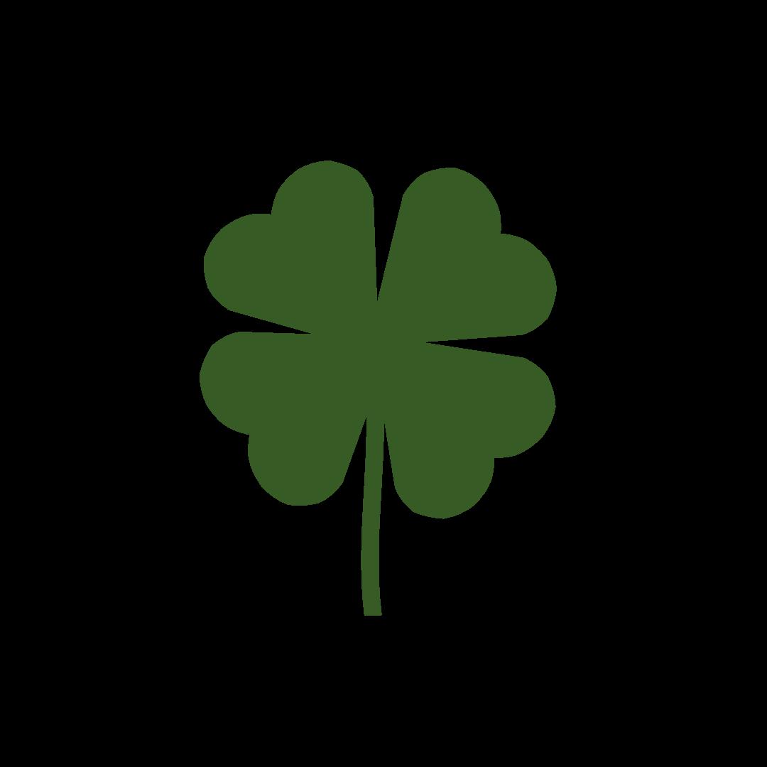 leaf clip art. Clover clipart three