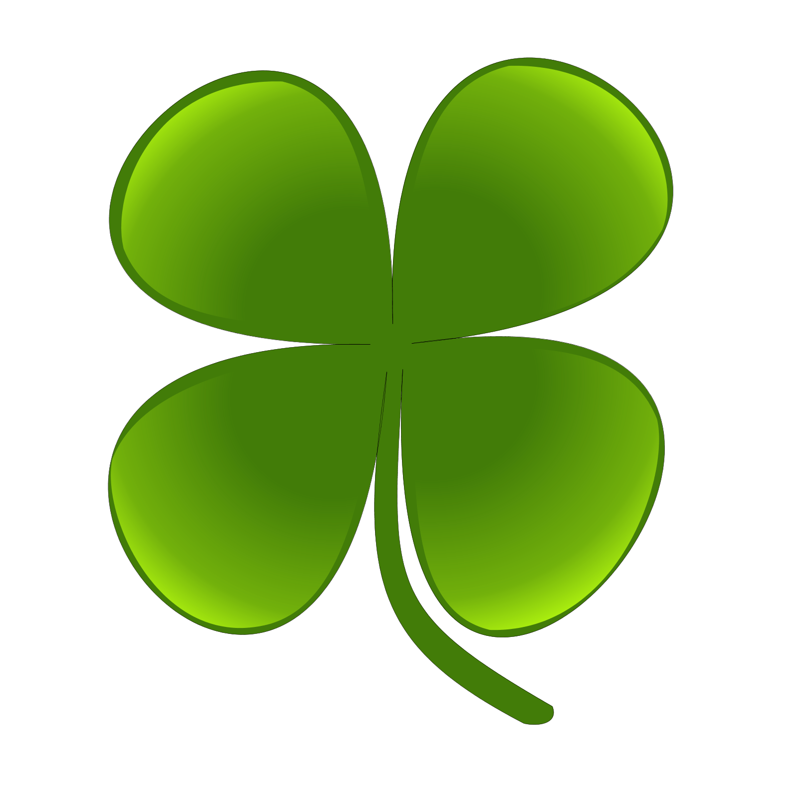 Clover clipart traceable. Shamrock dr odd