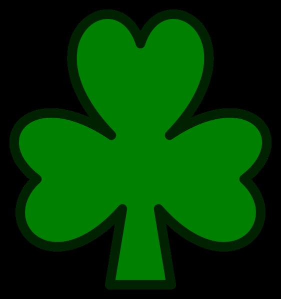File shamrock svg wikimedia. Clover clipart trebol