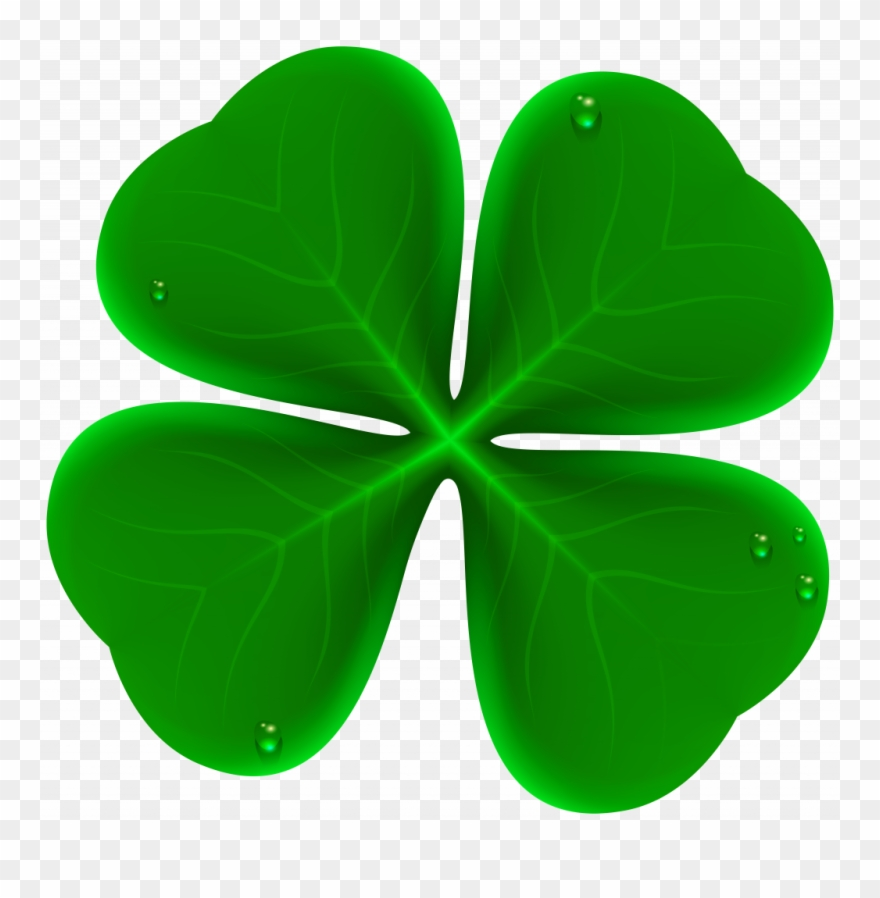 Royalty free stock image. Clover clipart unusual