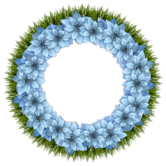 Letitsnow pinterest blue christmas. December clipart wreath