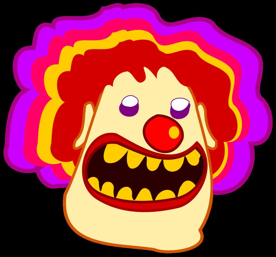 Public domain clip art. Nose clipart clown