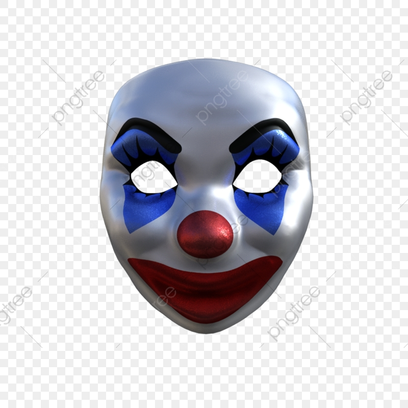 Mask accessories png transparent. Clown clipart accessory