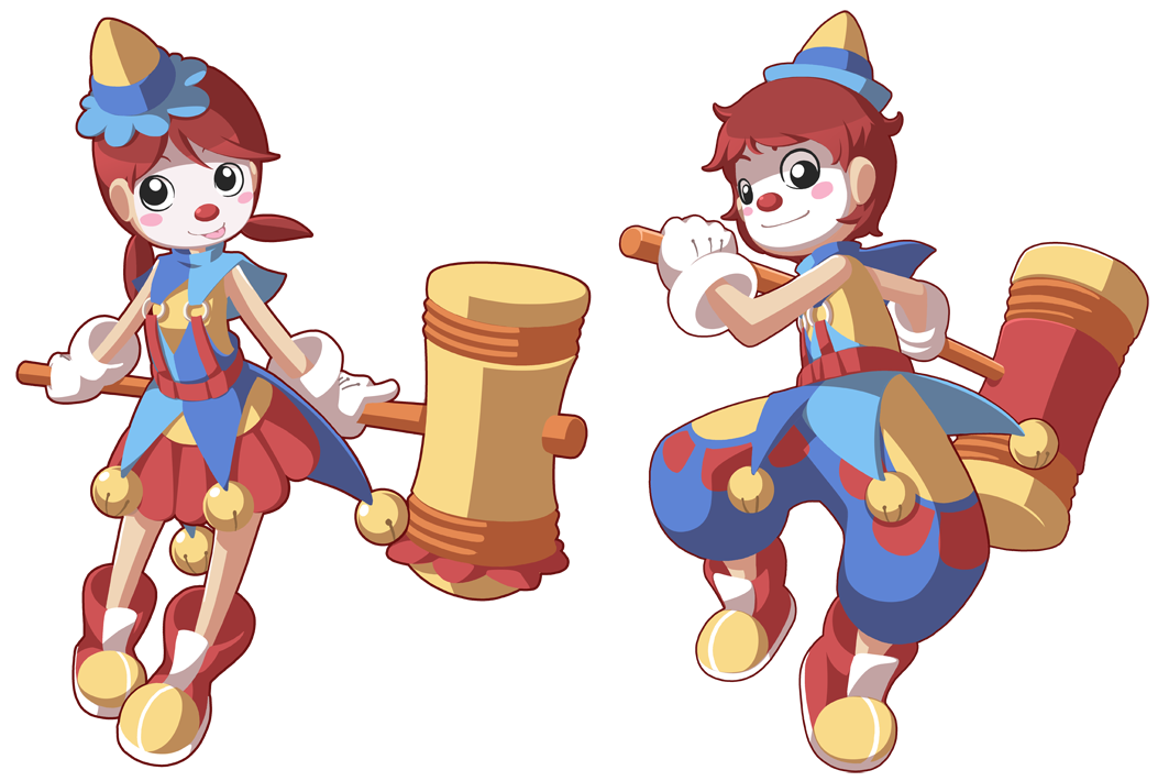 Clown clipart acrobat. Time by cubewatermelon on