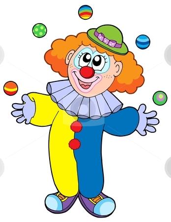 clip art clipartlook. Clown clipart blue