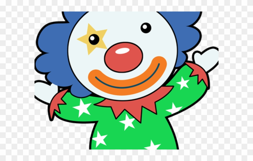 Clown clipart blue. Easy red white eagle