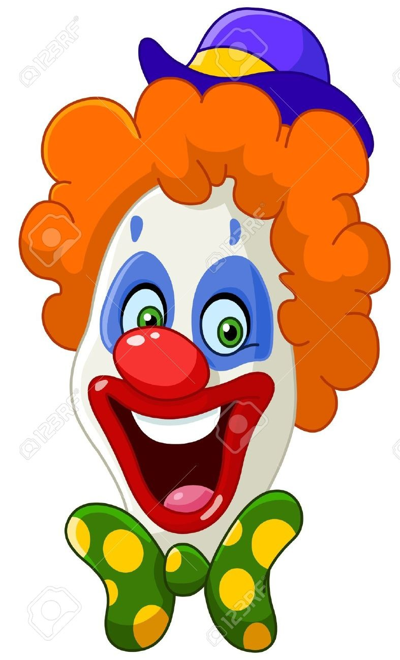 Clown clipart carnival. Within