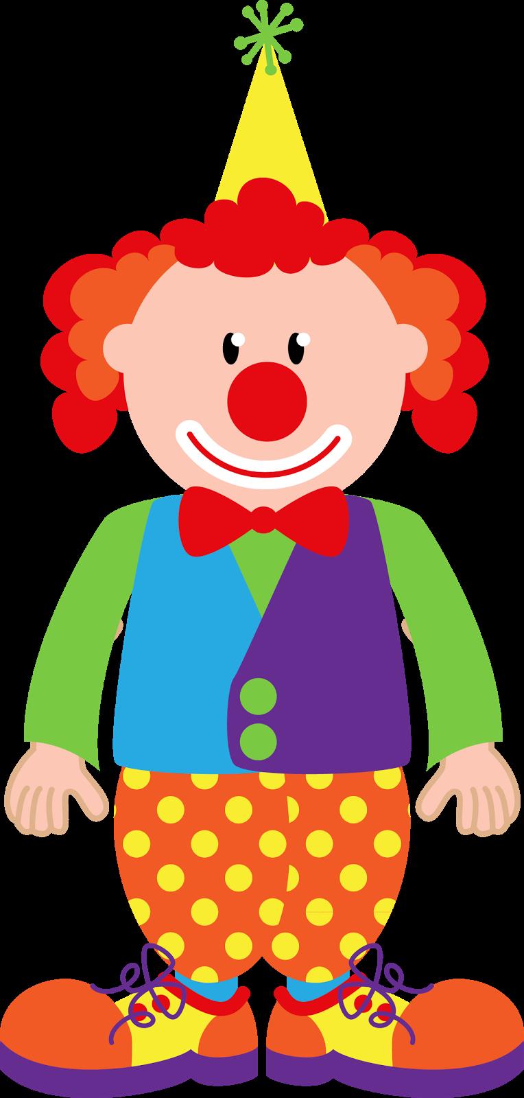 E a festa circo. Hands clipart clown
