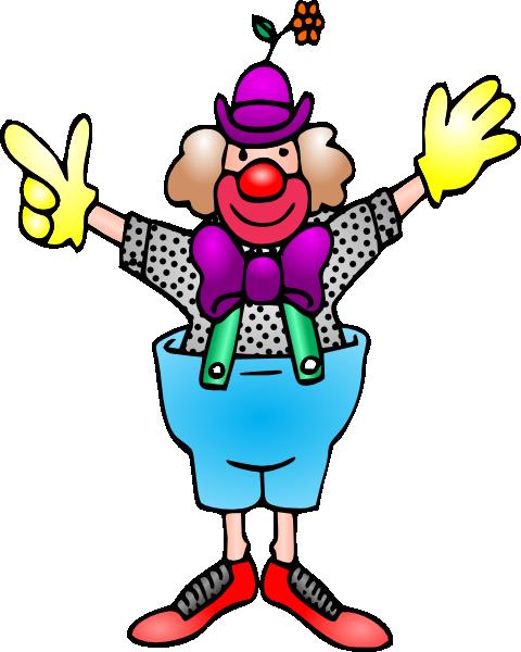 Clip art panda free. Clown clipart charade