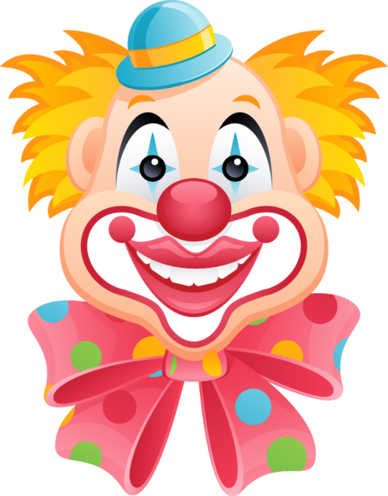 Clip art clowns pinterest. Clown clipart clown face