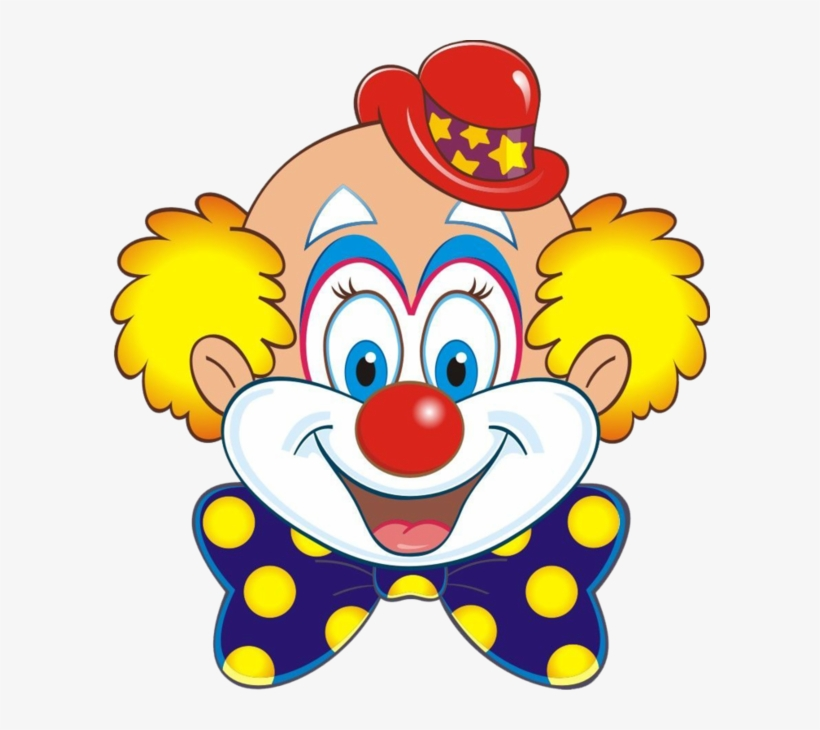 Clowns tubes transparent png. Clown clipart clown head