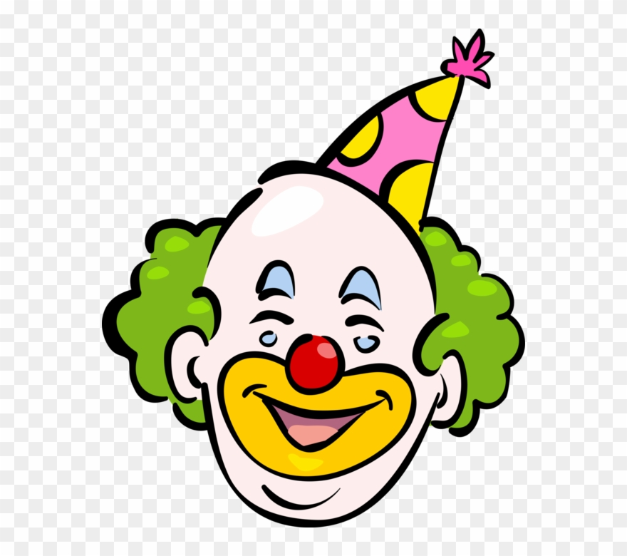 Clown clipart clown head. Png pinclipart