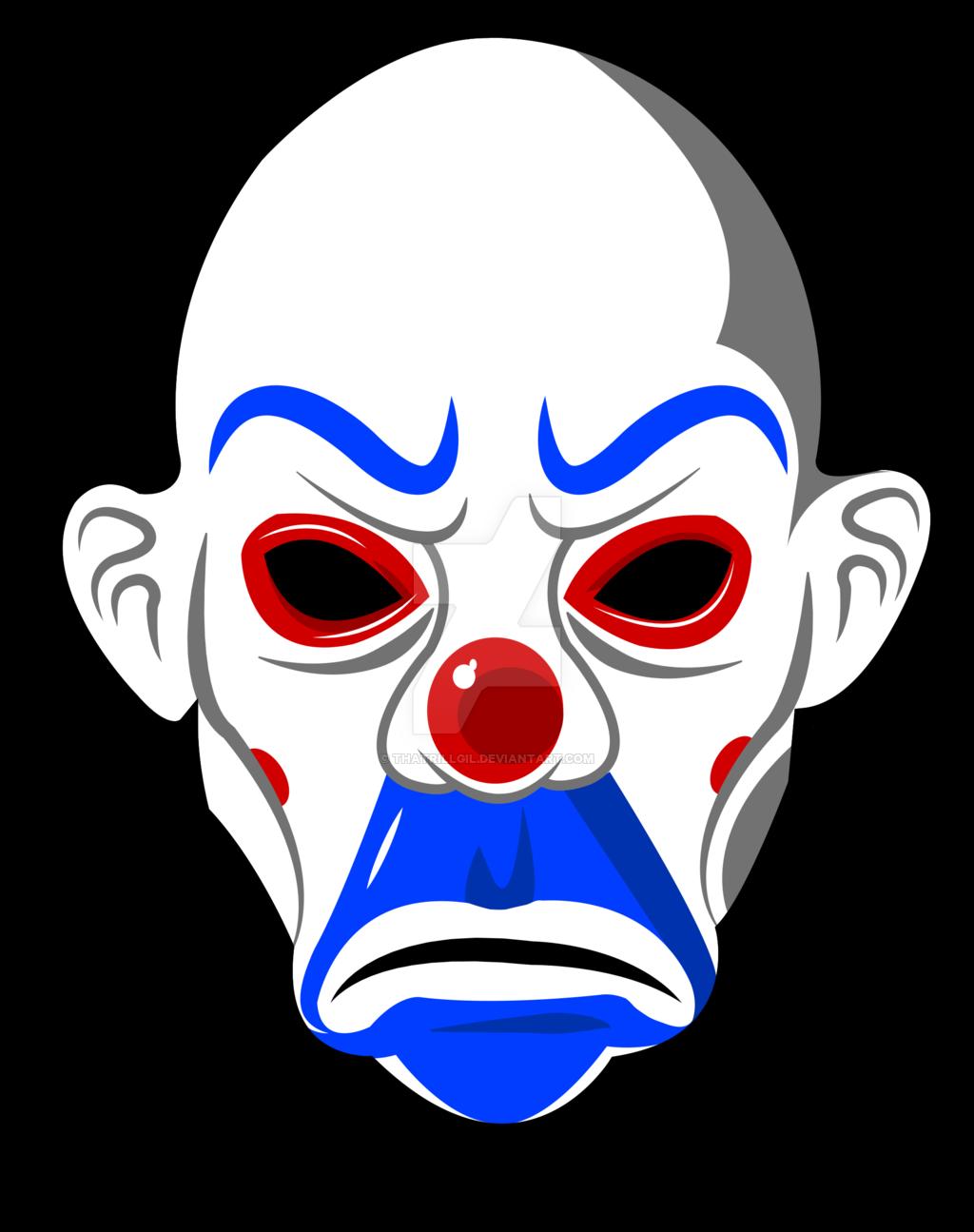 Joker by thatrillgil on. Clown clipart clown mask