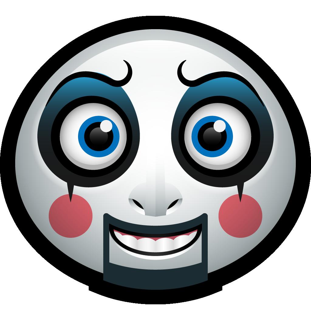 Halloween avatars by jojo. Clown clipart clown mask