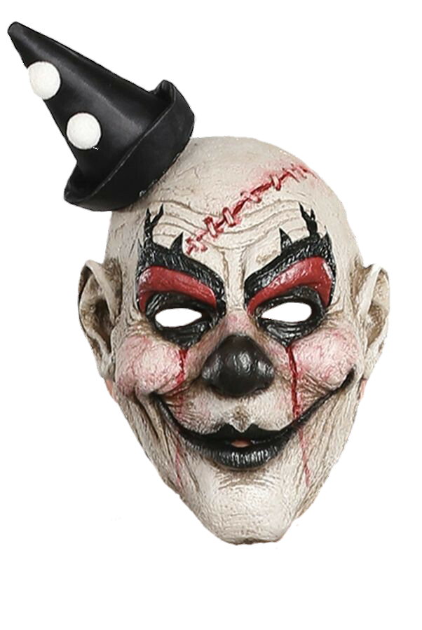 Scary sticker by momo. Clown clipart clown mask