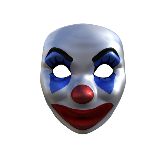 Accessories png and psd. Clown clipart clown mask