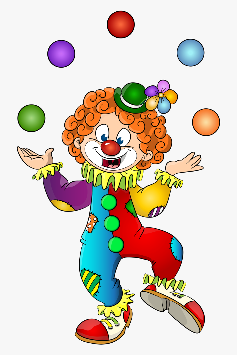 This png file is. Lady clipart clown
