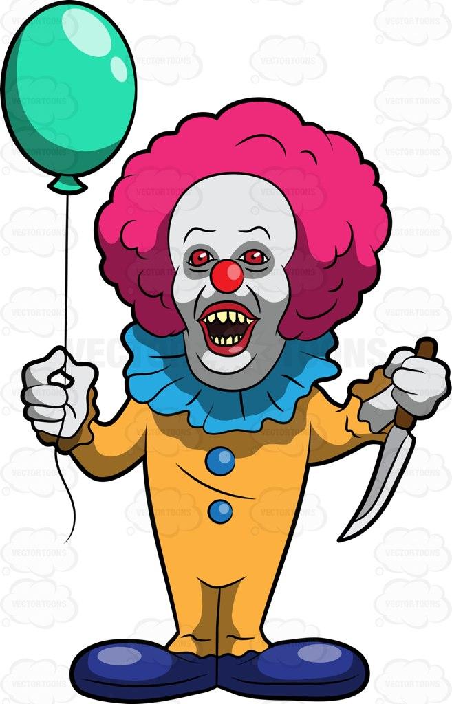 Clown clipart comic. Cartoon clowns pictures free