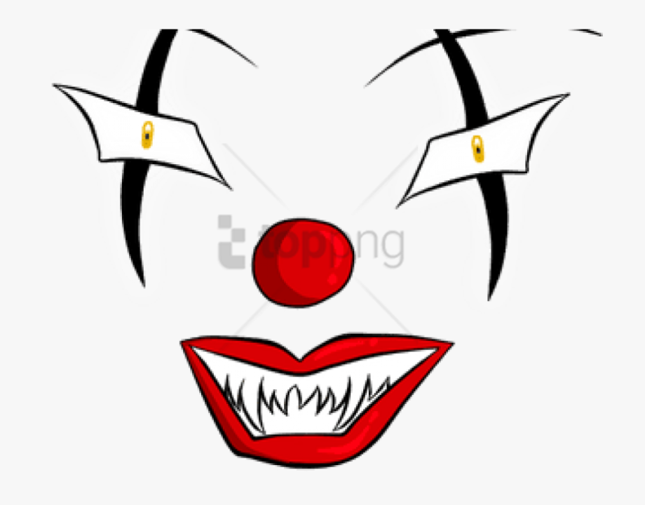 Free png evil eyes. Clown clipart eye