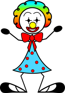Clown clipart female clown. Free lady cliparts download