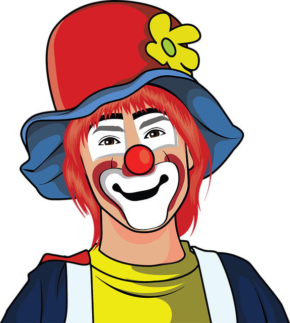 Ass page because everything. Clown clipart foot
