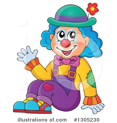 Illustration by visekart . Clown clipart foot