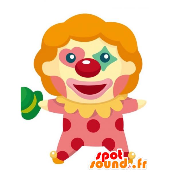 Purchase mascot very successful. Glove clipart clown