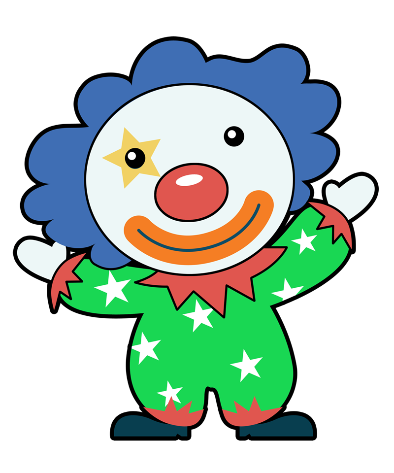 Clown clipart green. Free to use clipartix