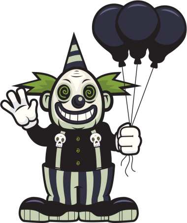 Free cliparts download clip. Clown clipart halloween