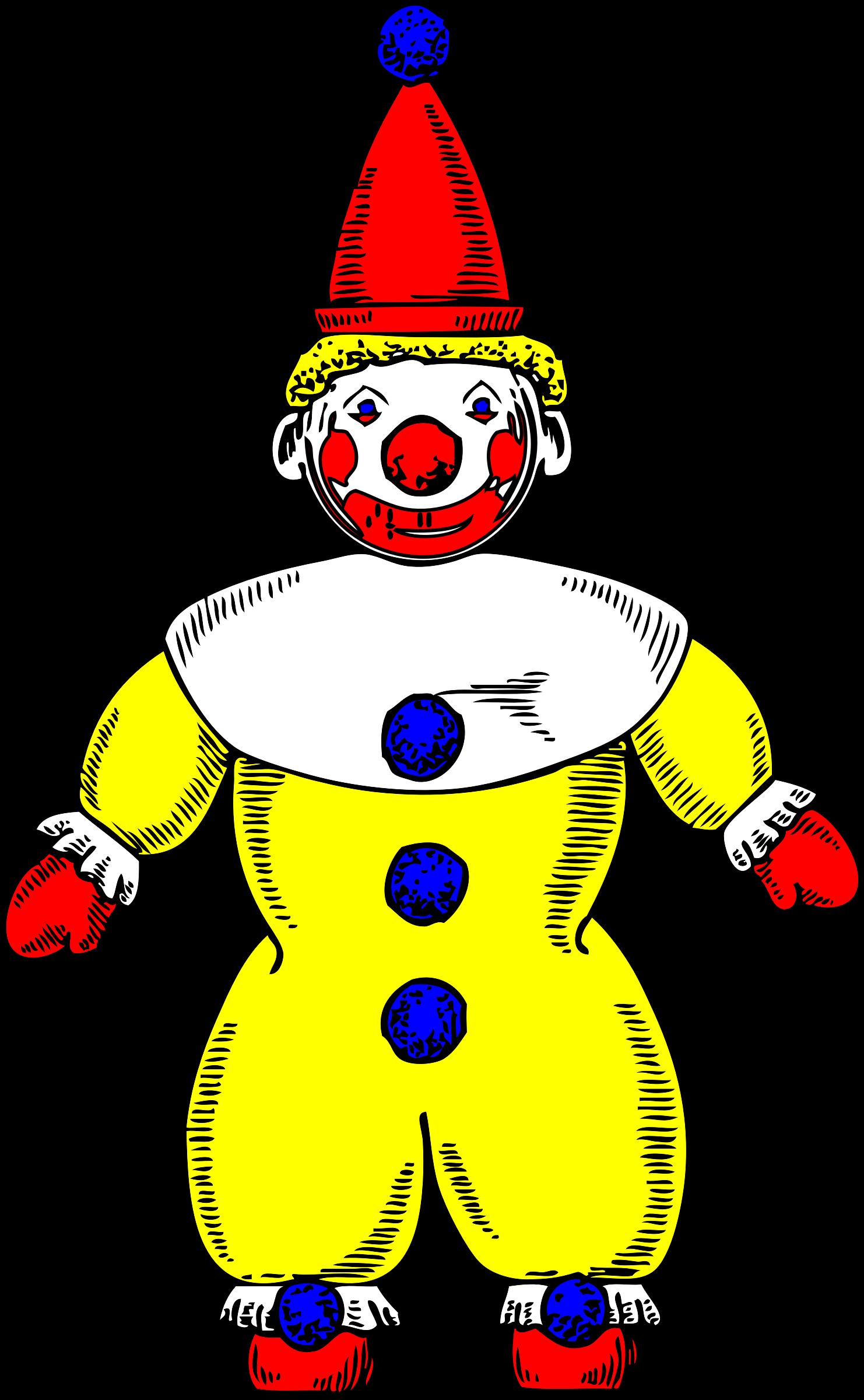 Costume clipart clown.
