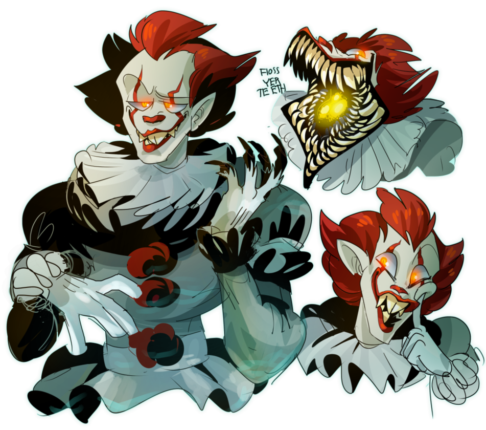 Clown clipart pennywise. Guess what movie i
