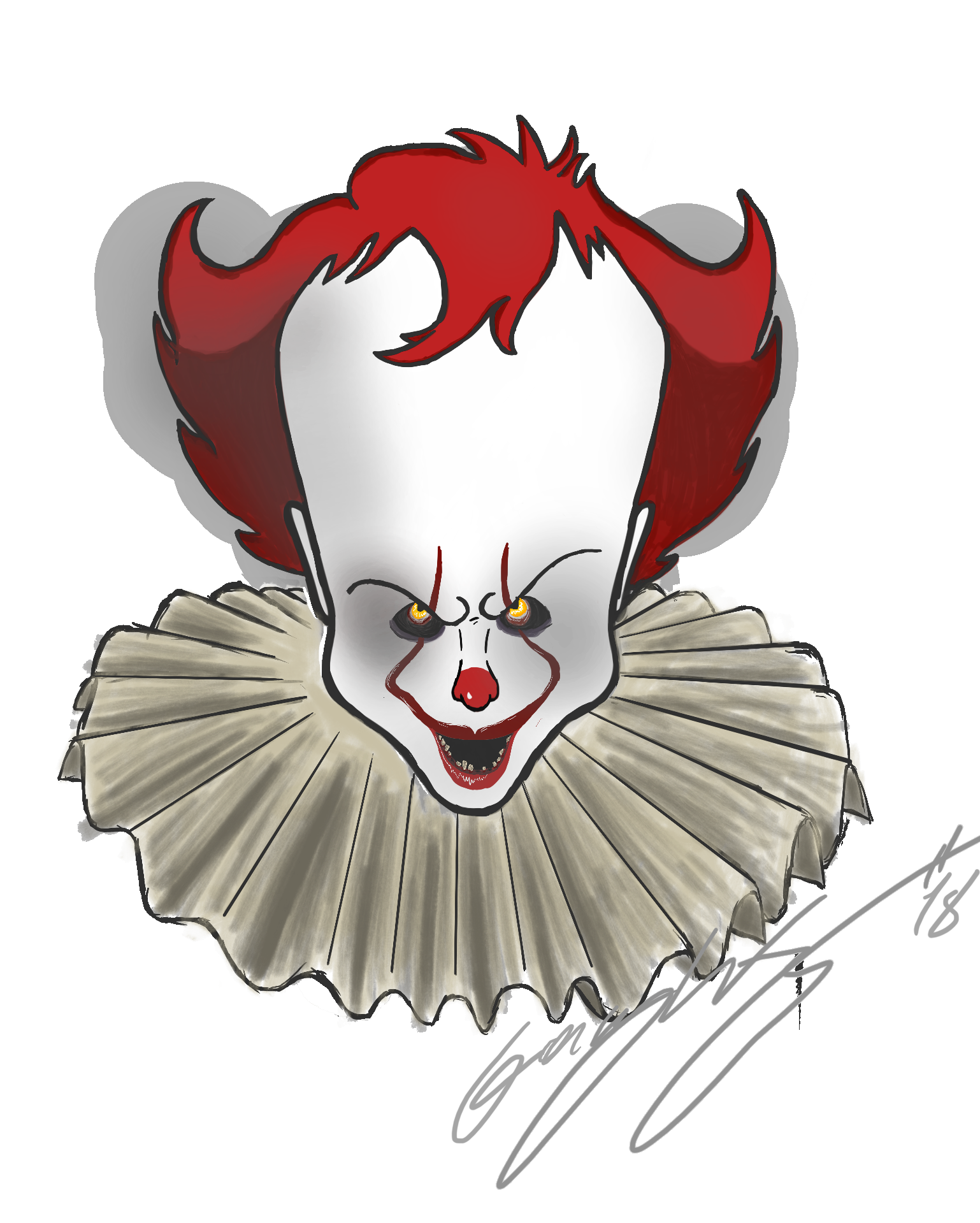 Clown clipart pennywise. Image png goosebumps wiki